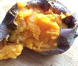 烤番薯的做法