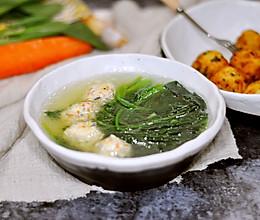 菜蔬鸡肉丸子  白煮&油炸的做法