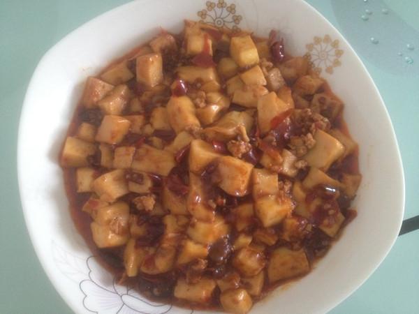 麻婆豆腐(麻辣豆腐)