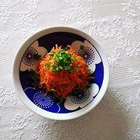 开胃小凉菜丨拌红萝卜丝的做法图解10