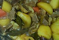 土豆胡罗卜牛肉#中粮我买,超模滋料大公开#的做法