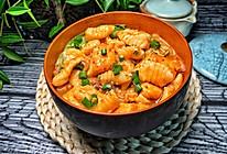 麻食烩三文鱼的做法