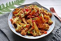 #人人能开小吃店#米饭杀手❗️超下饭的五花肉干锅花菜的做法