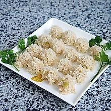 肉末豆腐珍珠丸子#秋天怎么吃#