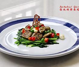 四季荞麦香(三)•葱油拌疙瘩Gnocchi.Chives的做法