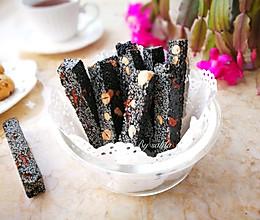黑芝麻花生糖#柏翠辅食节-健康食疗#