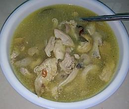 猪肚鸡汤的做法