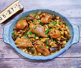 #我们约饭吧#操作简单又好吃的花生焖猪蹄的做法