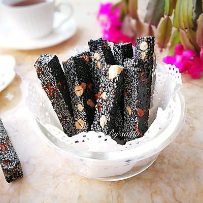 黑芝麻花生糖