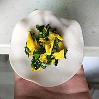 #馅儿料美食,哪种最好吃#韭菜鸭蛋饺子的做法图解5