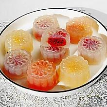 果味水晶月饼#晒出你的团圆大餐#