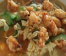 大虾面的做法