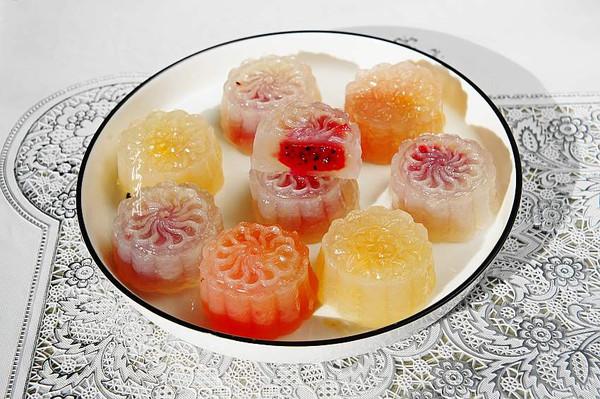 果味水晶月饼的做法