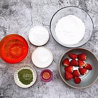 抹茶草莓大福的做法图解1