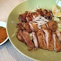 日式炭烧鸡腿肉的做法图解4