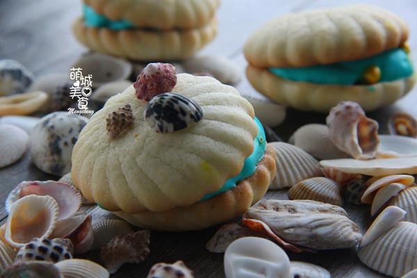 夏天Feel海洋气息---贝壳饼干的做法