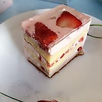 草莓慕斯蛋糕~简单~和蛋糕店的味道一样的做法图解19