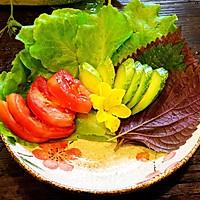 日式炸猪排配田园沙拉的做法图解4