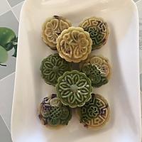 纯天然蔓越莓绿豆糕的做法图解2