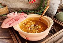 #快手又营养,我家的冬日必备菜品#一锅暖暖的咖喱海鲜汤的做法