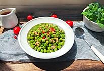 #做道懒人菜,轻松享假期#豌豆炒肉丁的做法