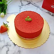 #10分钟早餐大挑战#6寸红丝绒戚风蛋糕