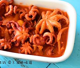 蒜香章鱼的做法