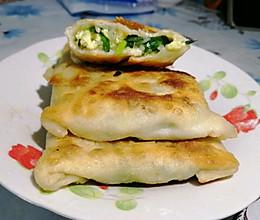 家庭版自制韭菜盒子#换着花样吃早餐#的做法