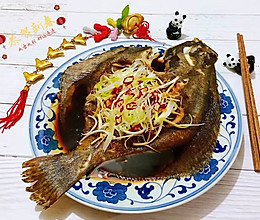 #母亲节,给妈妈做道菜#清蒸多宝鱼的做法