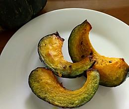 烤贝贝南瓜块的做法