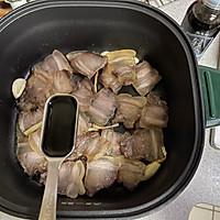 蒜苔炒腊肉的做法图解4