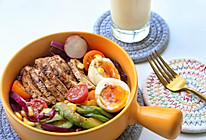 鸡胸肉沙拉,减肥就吃它,越吃越瘦!的做法
