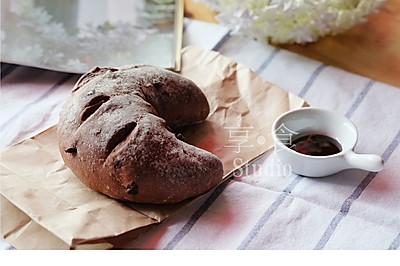 好吃的巧克力软欧#松下面包机版#