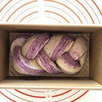 手撕紫薯吐司(一次发酵无需出膜)的做法图解15