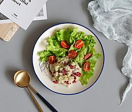 红腰豆时蔬菜花米的做法