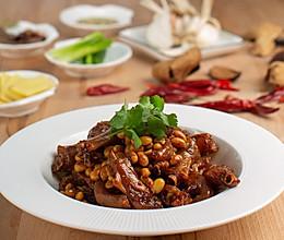 黄豆焖鸭拐——米博版的做法