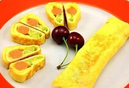 黄金蛋蛋卷的做法