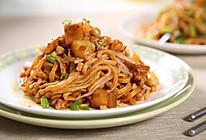 懒人版肉末茄丁伊面—捷赛私房菜的做法