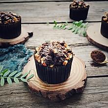 浓情摩卡巧克力马芬蛋糕