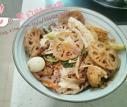 粤式麻辣香锅的做法
