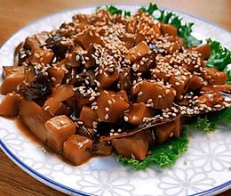 素卤肉浇头,配米饭一绝。无肉胜似有肉!的做法