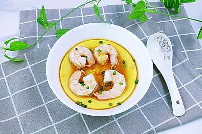 #父亲节,给老爸做道菜#虾仁鸡蛋羹