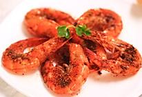 孜然烤大虾—迷迭香的做法