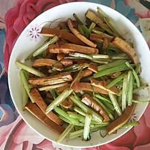 芹菜炒香干(家常小炒)
