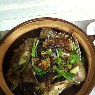 生焗鱼头煲