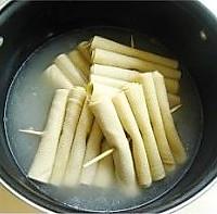 东北那些味儿--鸡汤豆腐串的做法图解6