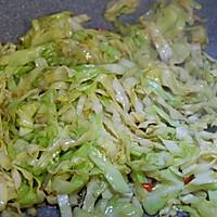 圆白菜炒粉丝的做法图解7