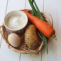 营养早餐【土豆鸡蛋软饼】的做法图解1