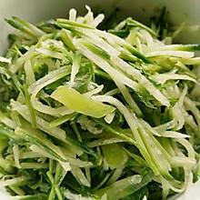 凉拌萝卜丝〜快手清口小菜、低脂菜