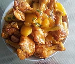 鸡腿炖土豆的做法